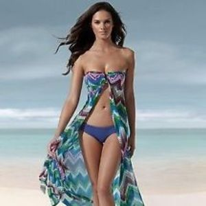 Kenneth Cole Reaction Swim Maxi Cover Up